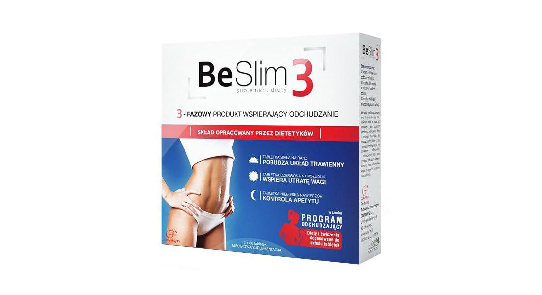 Be Slim 3 – Opinie, Działanie, Skład, Efekty Stosowania, Cena i Gdzie Kupić