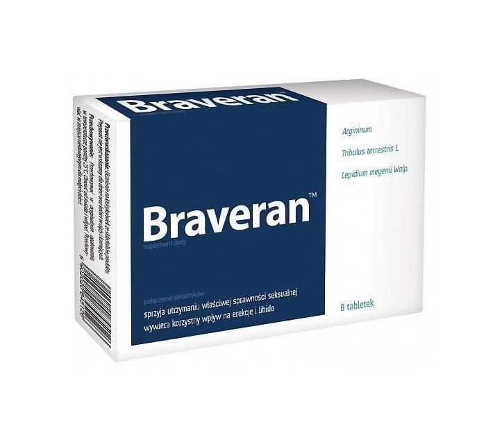 Braveran – Opinie, efekty, skład, apteka, forum, skutki uboczne