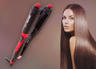 Hair Straightener 4 in 1